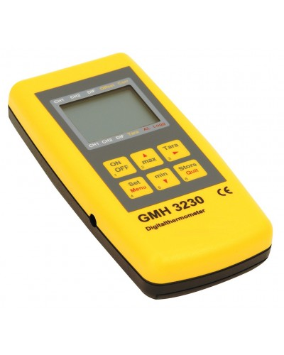 Handheld thermometer/pH meter